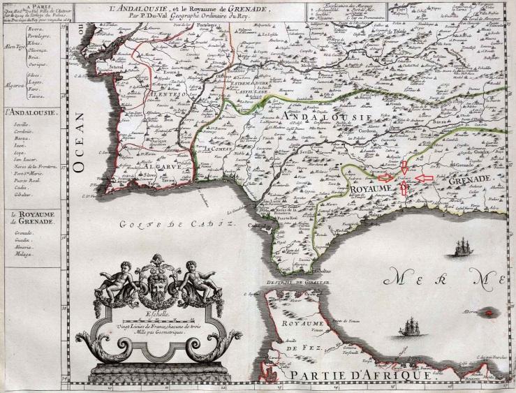 Andalucia y Reino de Granada ( 1688 Paris ) 1.jpg