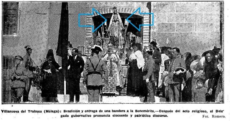 Resultado de imagen de Patrona de Villanueva del Trabuco